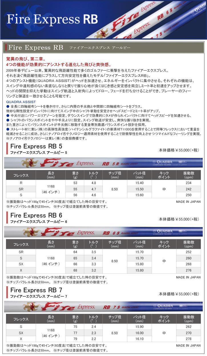 コンポジットテクノ Fire Fire Express RB (ファイアーエクスプレス アールビー)