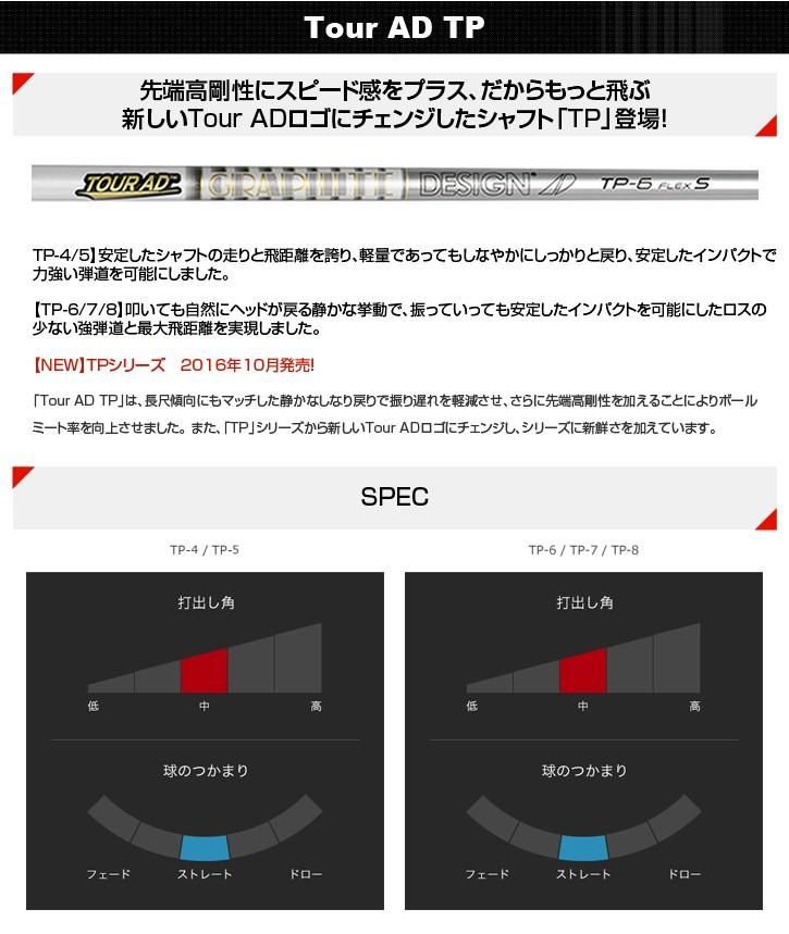 グラファイトデザイン Tour AD TP (ツアーAD TP)