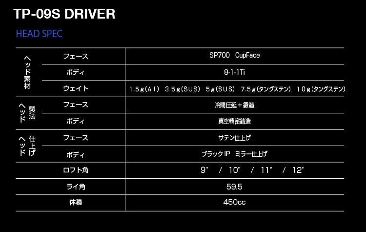 KAMUI (カムイ) TP-09S
