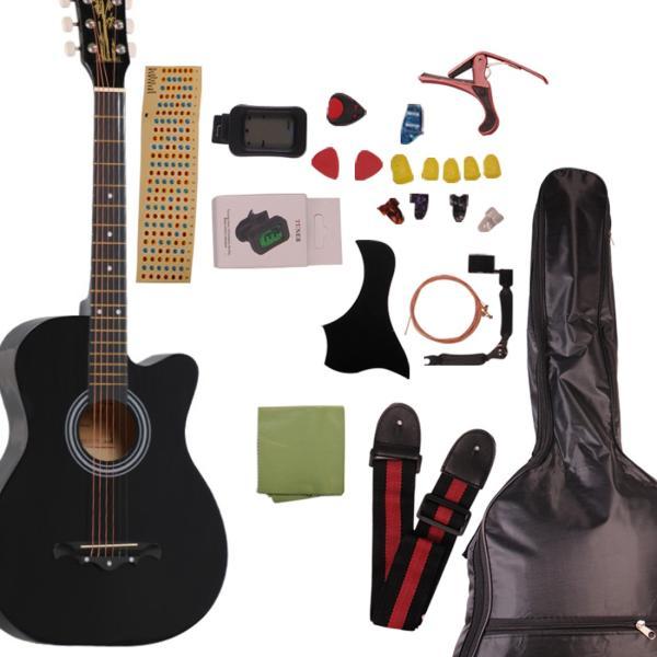 アコースティックギター初心者セット アコースティック 初心者 16点 セット 気軽に入門 9色|sanada-store|11