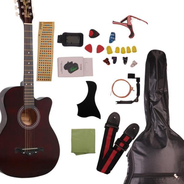 アコースティックギター初心者セット アコースティック 初心者 16点 セット 気軽に入門 9色|sanada-store|10
