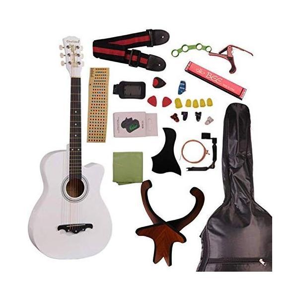 アコースティックギター初心者セット アコースティック 初心者 16点 セット 気軽に入門 9色|sanada-store|13