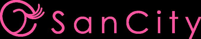 カラコン通販専門店サンシティ ロゴ