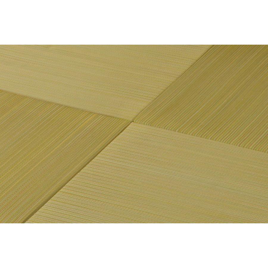 置き畳 ユニット畳 い草 おしゃれ フローリング 畳 正方形 軽量 和風 約65×65 cm カラフル  サイズ 滑り止め すべり止め 和室 安い 一人暮らし 新生活 sancota 14