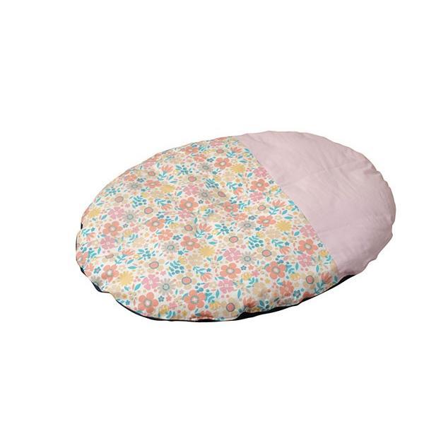 赤ちゃん いねむり 布団 座布団 丸 110cm 出産祝い 新生児 カバーが洗える カバーリング  子供  日本製 国産 せんべい  座ぶとん 洗える ウォッシャブル ゴロ寝|sancota|13