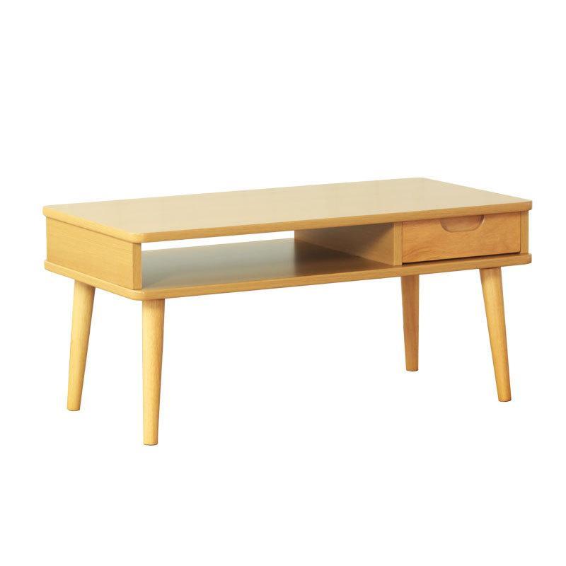 リビングテーブル おしゃれ 長方形 センターテーブル 幅80cm 木製 収納 北欧 引き出し かわいい コンパクト 安い ソファ ローテーブル 作業台 一人暮らし 新生活 sancota 16