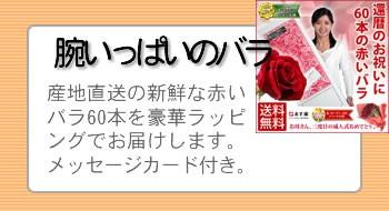 還暦60本のバラ