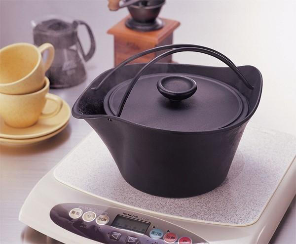 南部鉄器・湯沸し鍋・やかん・岩鋳