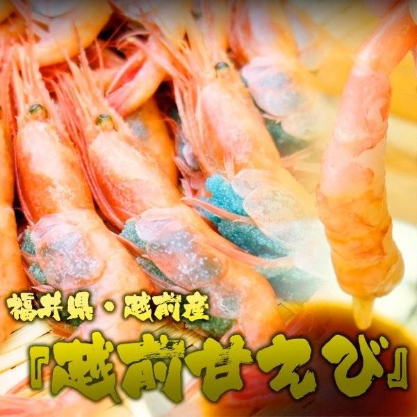 福井県天然甘エビ