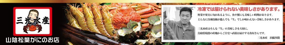 松葉がに、紅ズワイガニ、穫れたて鮮魚 日本海の美味しいもの専門店