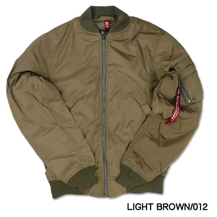 ALPHA アルファ L-2B フライトジャケット ボンディング L2B MA-1 ライト 春物 ミリタリージャケット メンズ アウター TA1450 sanshin 16