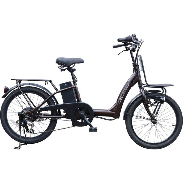 電動自転車 電動アシスト自転車459 子供乗せ装着可能 20インチ シマノ製6段変速機&最新後輪ロックキー&長持ちバッテリー搭載 Airbike|santasan|11