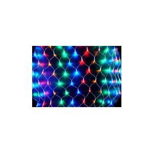 イルミネーション LEDライト ネット 160球 ハロウィン クリスマス 防滴 野外屋外使用可 santasan 12