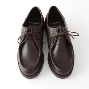 クレマン KLEMAN チロリアンシューズ PADRE / ブラック モカ ブラウン レザーシューズ / 靴 牛革 革靴 レディース(交換対応可) サンテラボ