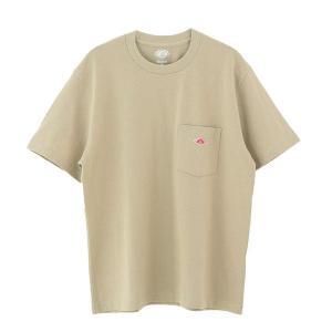 (2021春夏) ダントン DANTON 半袖ポケット付クルーネックTシャツ(無地)SOLID #JD-9041 レディース 綿 2021SS サンテラボ