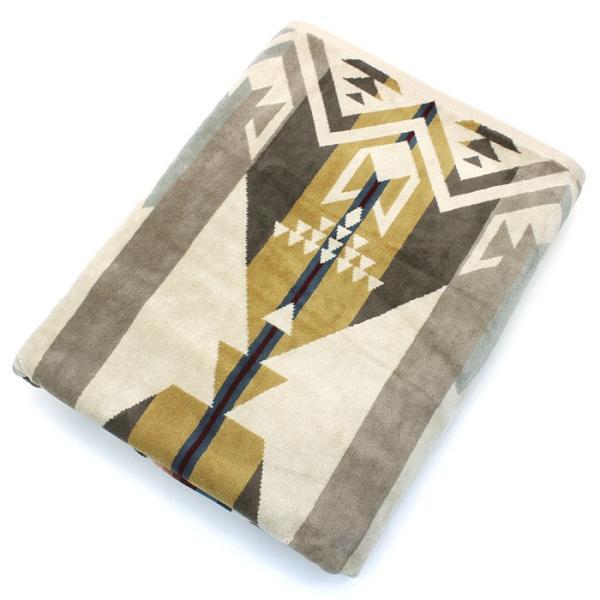 クーポン使えます ペンドルトン PENDLETON タオルブランケット スパタオル XB233 Oversized Jacquard Towels 約101×177cm|santnore|09
