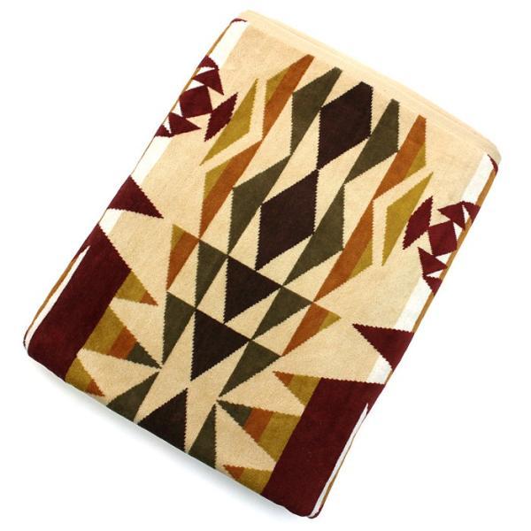 クーポン使えます ペンドルトン PENDLETON タオルブランケット スパタオル XB233 Oversized Jacquard Towels 約101×177cm|santnore|14