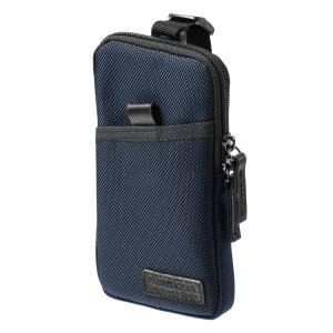 スマホケース スマホポーチ メンズ スマホホルダー iPhone ベルト リュック ショルダー 携帯ケース|サンワダイレクト
