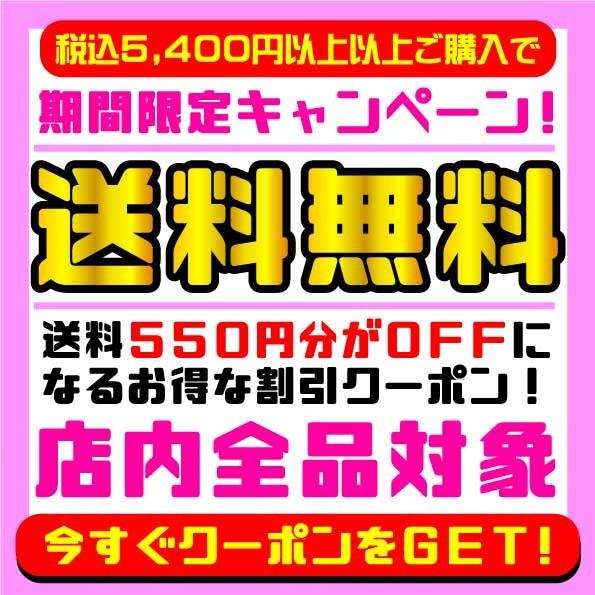 ★送料無料クーポン★全品対象&5400円以上ご購入で送料無料となる550円OFFクーポン!