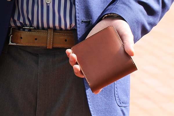 二つ折り財布(コインケース付)