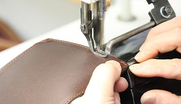 技術が問われる縫製