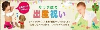 シャディ サラダ館 の 出産祝い 内祝い!