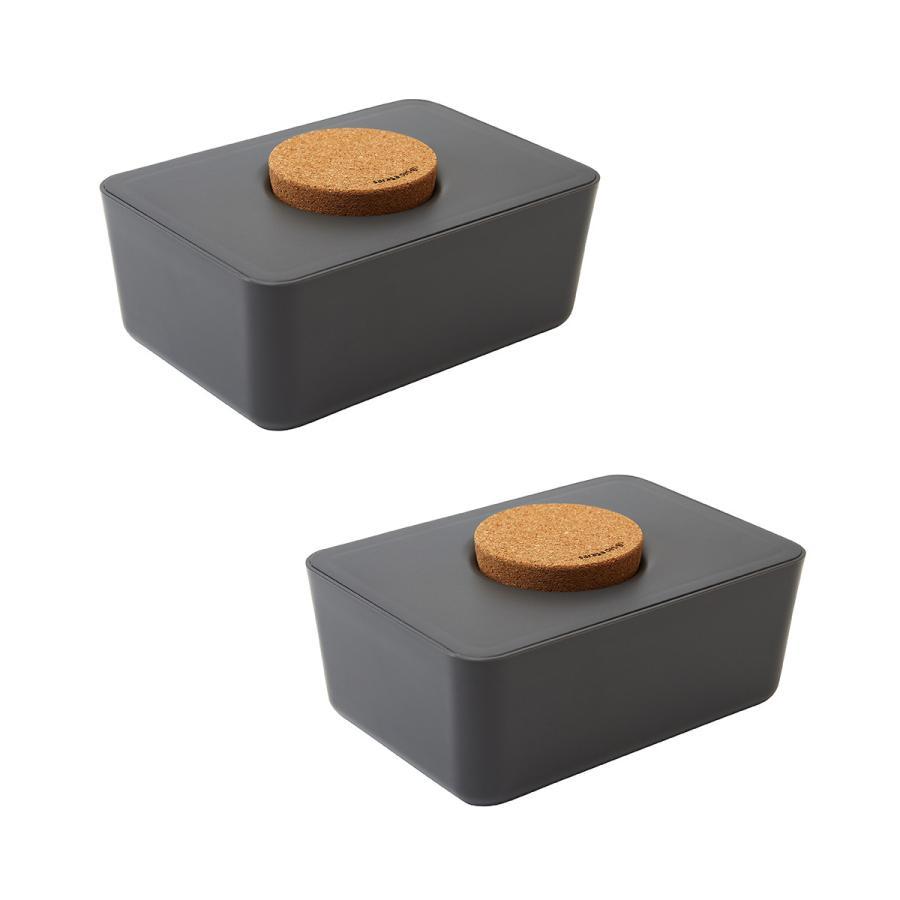 ウェットティッシュケース ウエットティッシュ おしりふき[セット販売●b2c ウェットティッシュホルダー(コルク蓋) 2個セット]サラサデザイン|sarasa-designstore|09