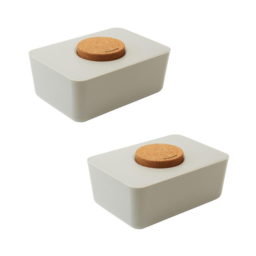 ウェットティッシュケース ウエットティッシュ おしりふき[セット販売●b2c ウェットティッシュホルダー(コルク蓋) 2個セット]サラサデザイン|sarasa-designstore|08