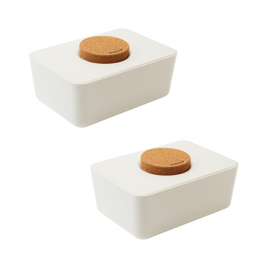 ウェットティッシュケース ウエットティッシュ おしりふき[セット販売●b2c ウェットティッシュホルダー(コルク蓋) 2個セット]サラサデザイン|sarasa-designstore|07