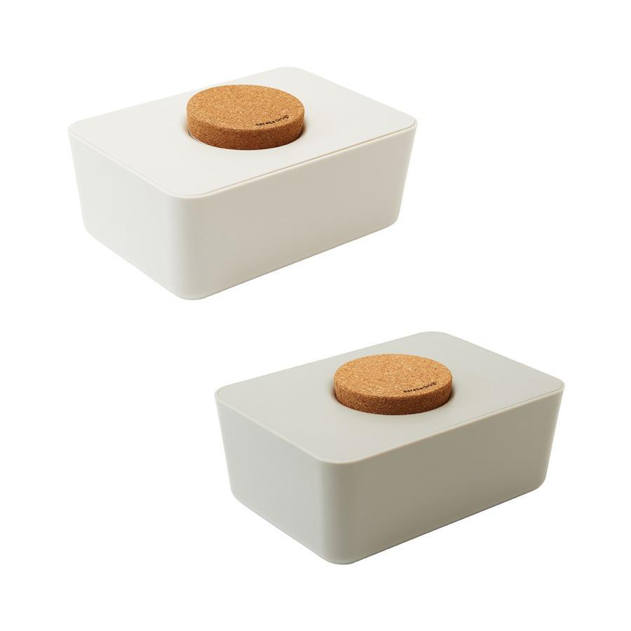 ウェットティッシュケース ウエットティッシュ おしりふき[セット販売●b2c ウェットティッシュホルダー(コルク蓋) 2個セット]サラサデザイン|sarasa-designstore|11