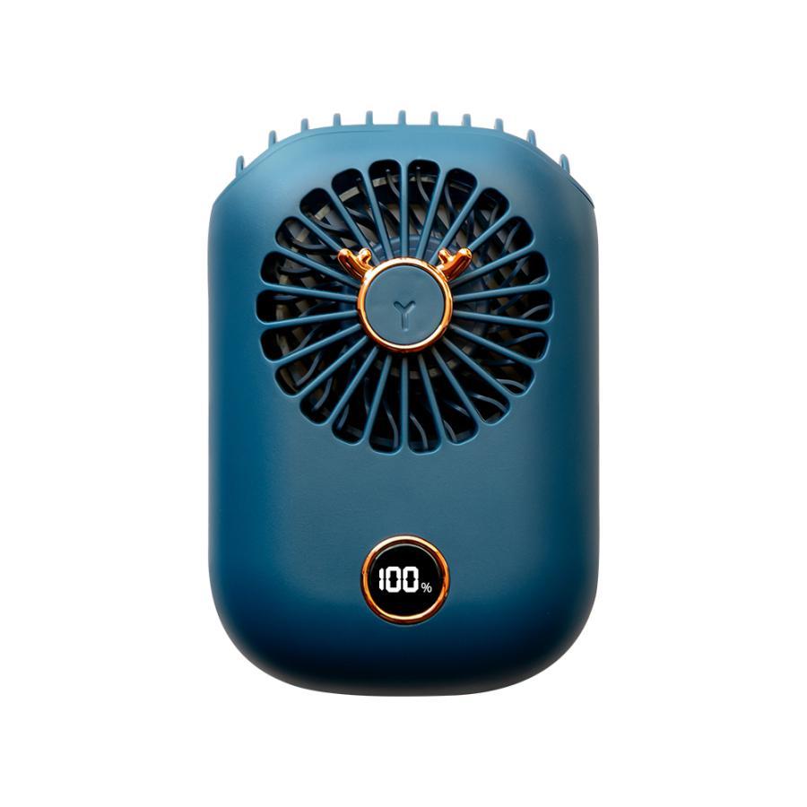 扇風機 首かけ扇風機 ミニ扇風機 ハンズフリー 首掛け ファン ネッククーラー ハンディファン 小型 軽量 充電式 携帯扇風機 熱中症対策 送料無料|sato-daiki|25