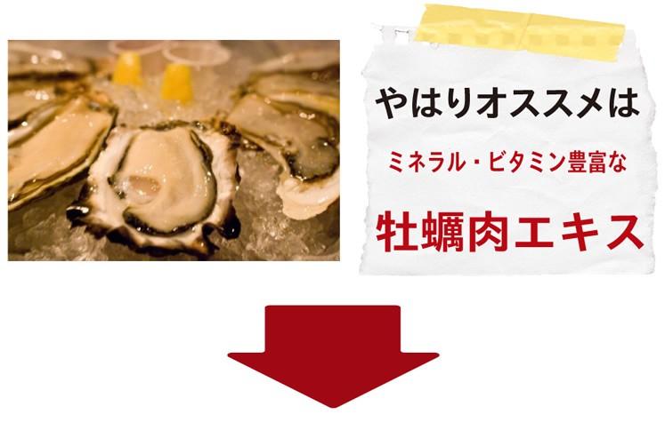 ビタミン ミネラル豊富な牡蠣肉エキス