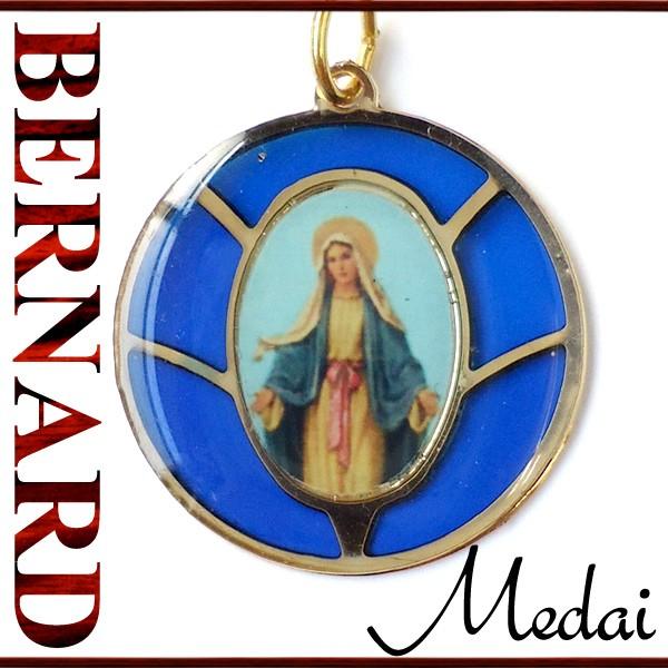 ヴィンテージアクセサリー BERNARD 無原罪の聖母マリアメダイ