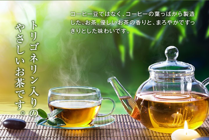 やさしいお茶です。