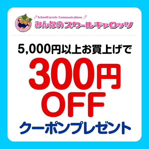 5000円以上お買い上げで300円OFFクーポン