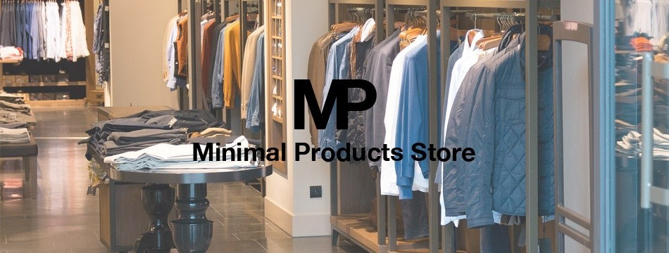 Minimal Products Store