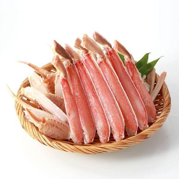 カニ ズワイガニ 2kg 刺身 ボイル ハーフポーション|seafoodhonpo88|20