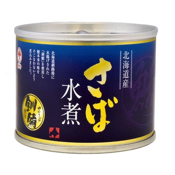 サバ缶 北海道産 選べる 1缶 190g 味噌煮 水煮 味付|seafoodhonpo88|11