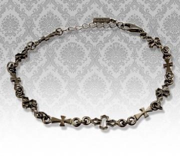 セレイナ・アンが着用したブランド、ララクリスティーのテンプルクロスブレスレット メンズ