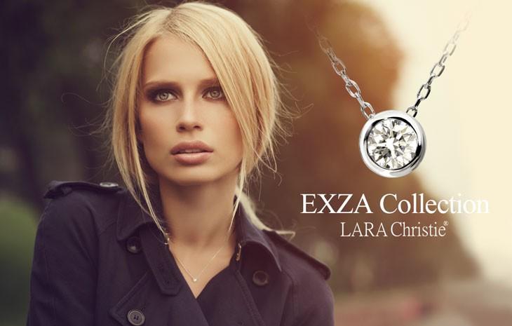 ブランドLARA Christie(ララクリスティー)のEXZA エグザ COLLECTION K18 ネックレスです。