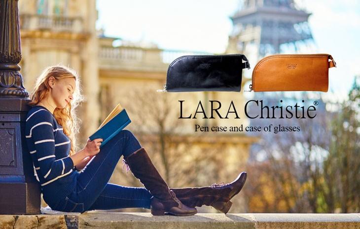 ブランドLARA Christie(ララクリスティー)のペンケース ファスナー 栃木レザーです。