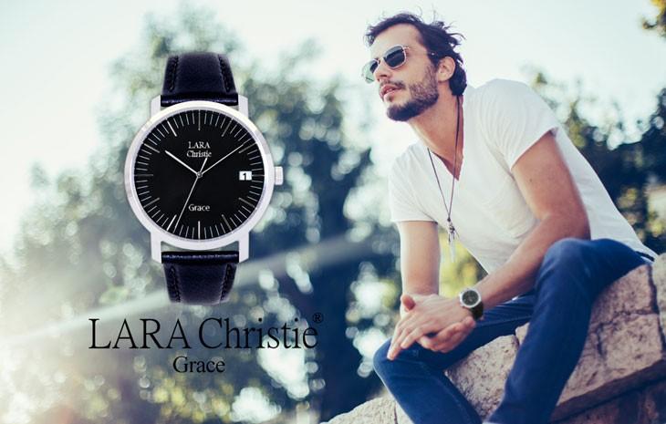 ブランドLARA Christie(ララクリスティー)のグレース 腕時計 メンズ ウォッチ(ブラックレーベル)です。