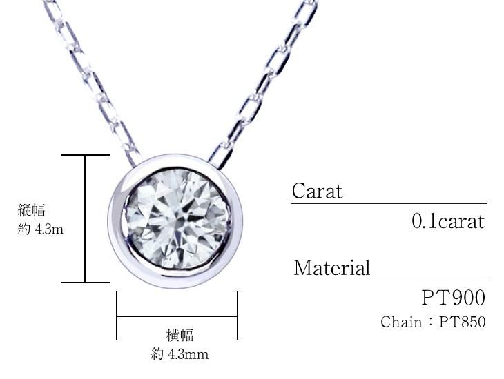 ダイヤモンドフクリンネックレスのスペック