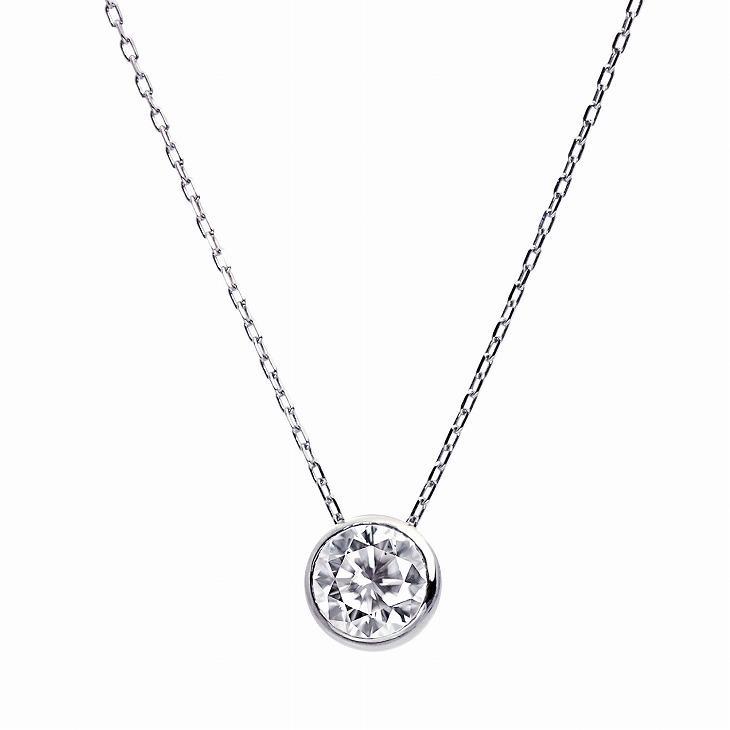ダイヤモンド ネックレス レディース ダイヤモンド フクリン 0.3ct 一粒 ダイヤモンド PT900 LARA Christie ララクリスティー プラチナム コレクション|sears-collection|21