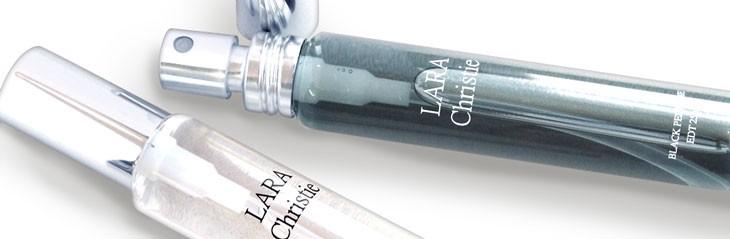 ブランド LARA Christie(ララクリスティー)のペア パフューム オードトワレの拡大画像。