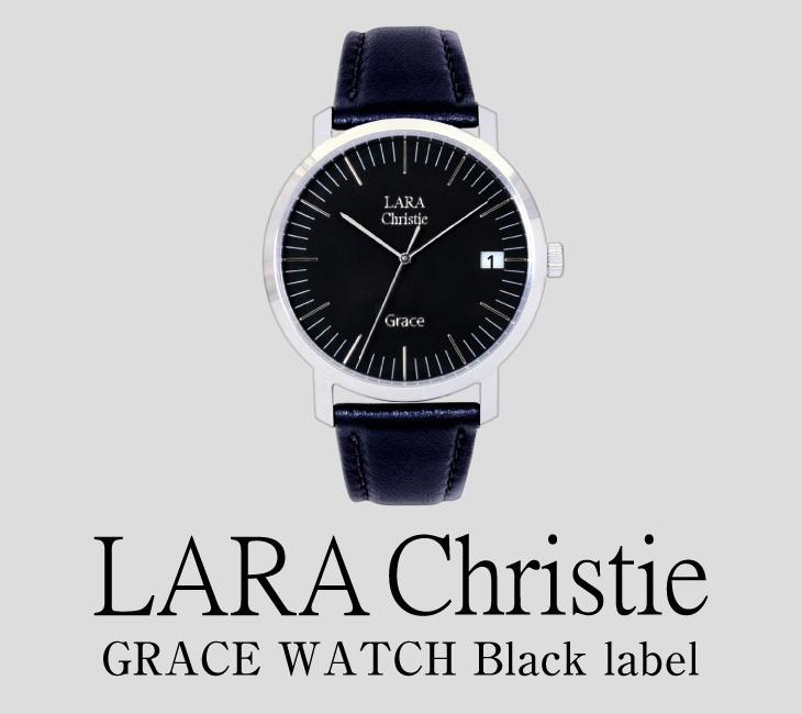ブランドLARA Christie(ララクリスティー)のグレース 腕時計 メンズ ウォッチ(ブラックレーベル) 。