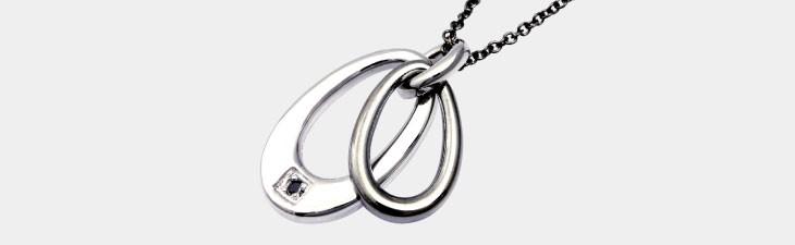 ブランド LARA Christie(ララクリスティー)のジュピター ネックレス(ブラックレーベル)の全体像。