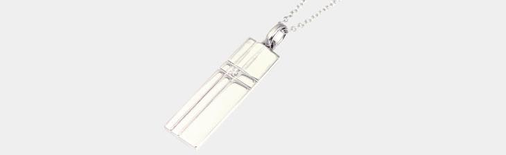 ブランド LARA Christie(ララクリスティー)のディアレスト ネックレス(ホワイトレーベル)の全体像。