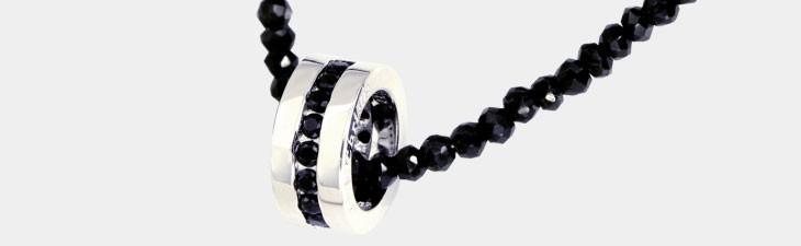 ブランド LARA Christie(ララクリスティー)のエタニティ ネックレス BSモデル(ブラックレーベル)の拡大画像。