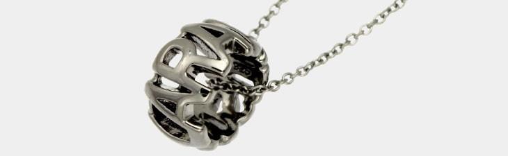 ブランド LARA Christie(ララクリスティー)のクラシコ ネックレス(ブラックレーベル)の全体像。